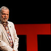 George Mason University Professor David Anderson speaks during the 2015 George Mason University TEDx conference at Harris Theater.  Photo by Craig Bisacre/Creative Services/George Mason University