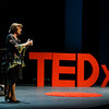 Linda Monson, University Distinguished Service Professor, Director of Keyboard Studies speaks during the 2015 George Mason University TEDx conference at Harris Theater. Photo by Craig Bisacre/Creative Services/George Mason University