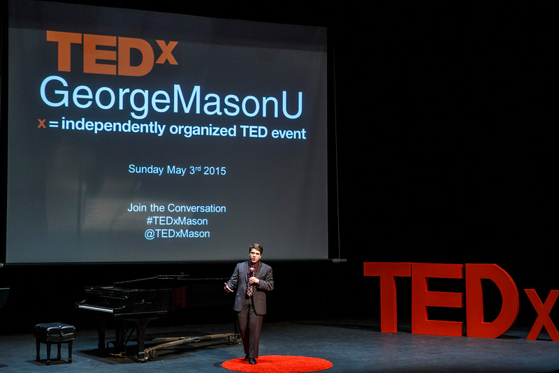 George Mason University 2015 TEDx Conference at Harris Theater. Photo by Craig Bisacre/Creative Services/George Mason University