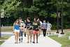 Students at orientation.   Photo by:  Ron Aira/Creative Services/George Mason University