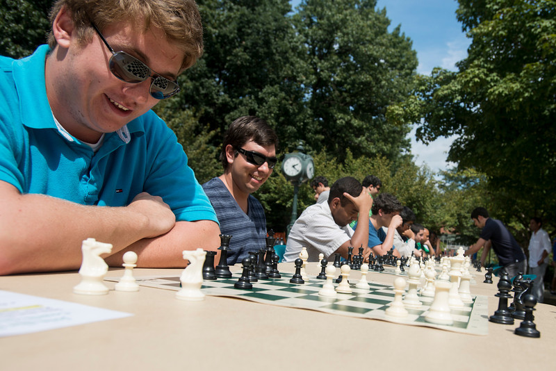 Chess on the North Plaza
