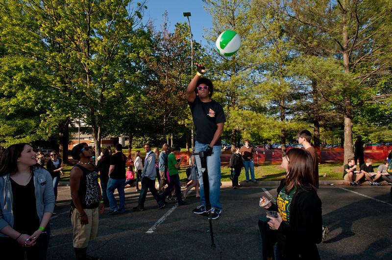2012 Mason Day at Fairfax Campus. Photo by Alexis Glenn/Creative Services/George Mason University