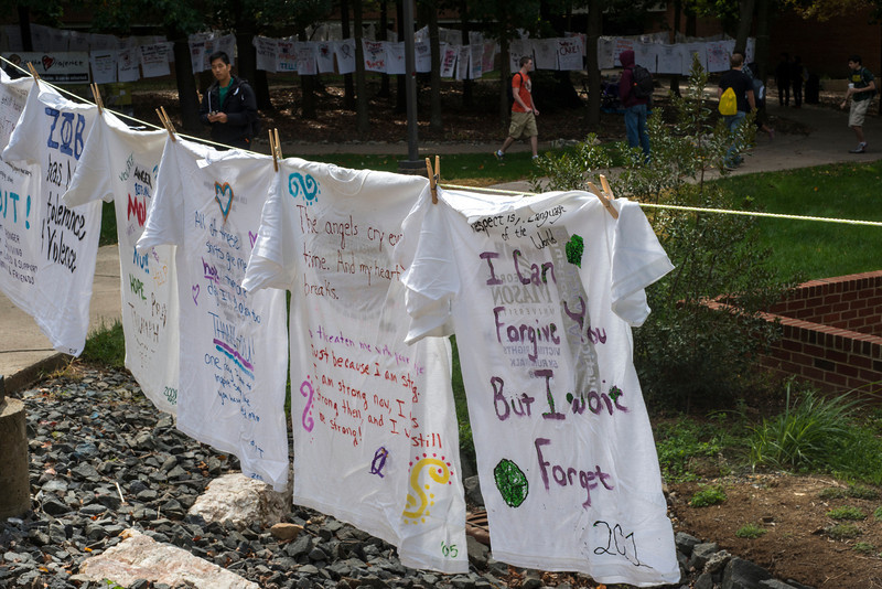 Turn of the Violence Clothesline Project