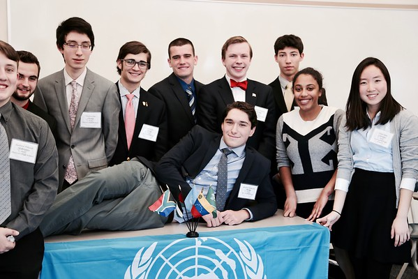 Model UN Event Photos by Nik P '18