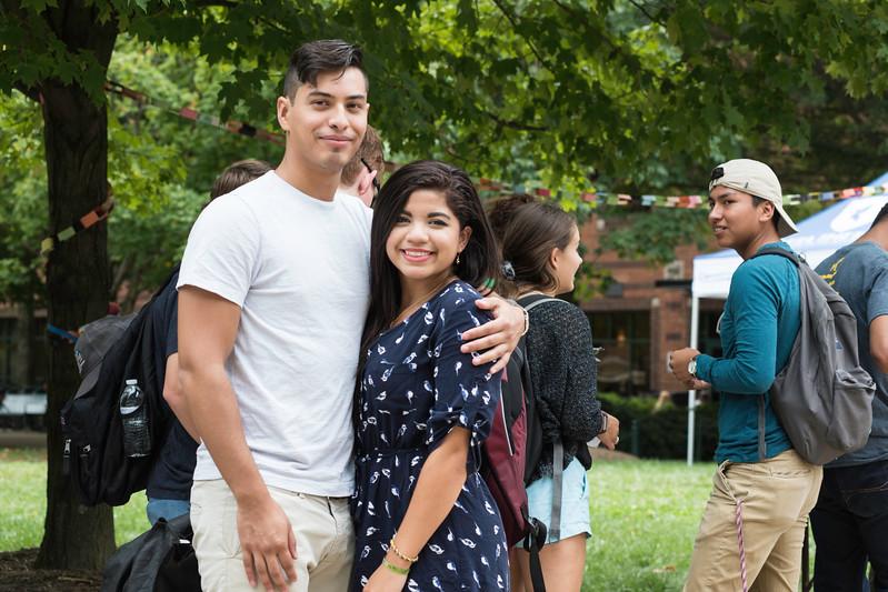 Bienvenida Latina Kick-Off Party celebrating the beginning of Hispanic Heritage Month.  Photo by Ron Aira/Creative Services/George Mason University