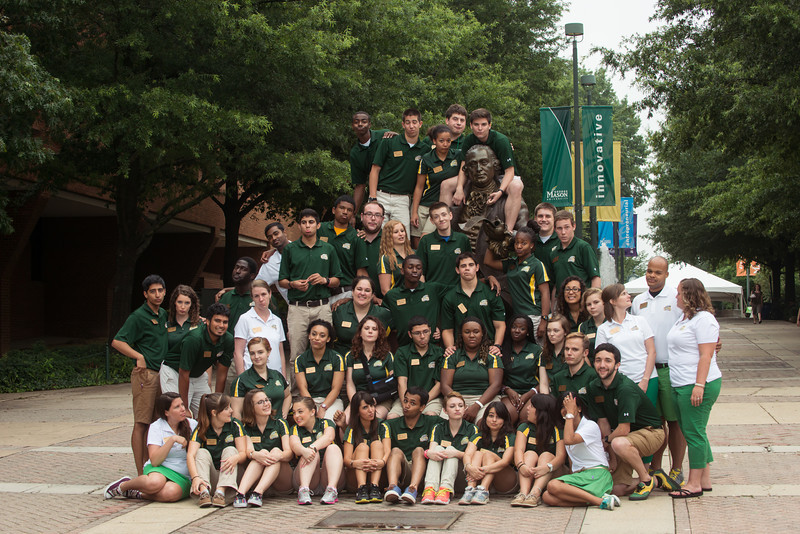 Orientation with the Office of Orientation and Family Programs and Services