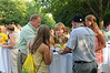 100722186 - Mason families at a barbecue hosted by Orientation and Family Programs and Services. Photo by Lori Wilson