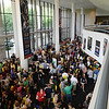 Students and parents attend orientation in the Concert Hall. Photo by Evan Cantwell/Creative Services/George Mason University