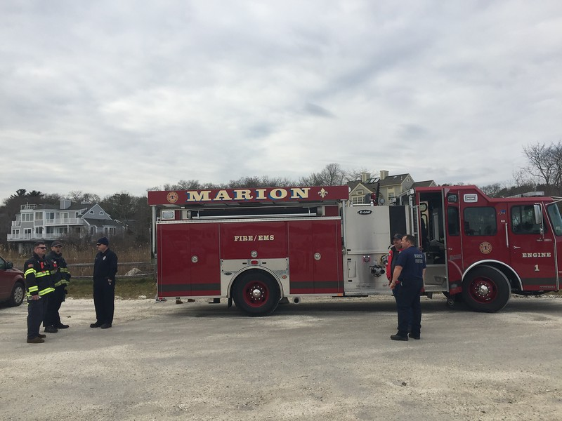 Marion EMS was on hand to keep us safe and sound!