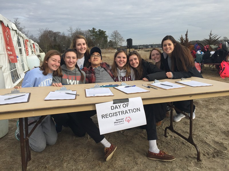 Our student committee arranged the whole day for us, raising over $12K for  Special Olympics and plenty of awareness, too!