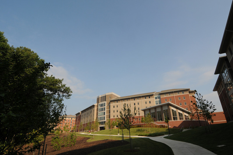Eastern Shore residence hall on Fairfax Campus. Photo by Creative Services.