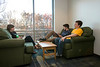 Eastern Shore residence hall lounge