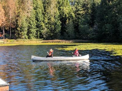 2018 10th Grade Retreat at Island Lake