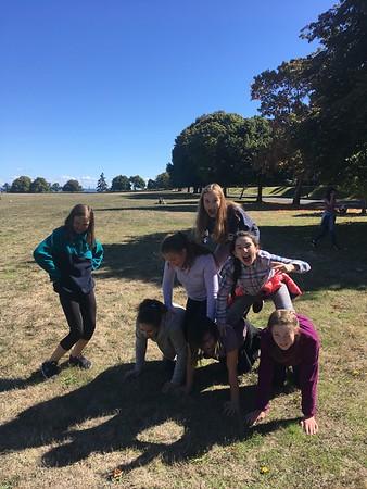 2018 7th Grade Retreat at Fort Worden