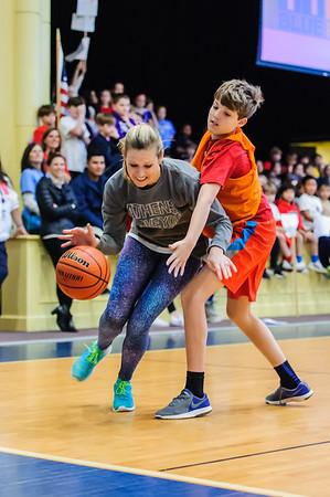 Sixth Grade v. Faculty Basketball Game 2017