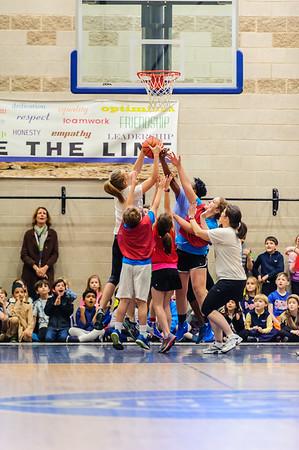 Sixth Grade vs. Faculty Basketball Game
