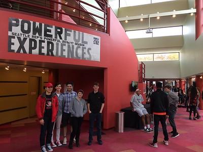 2016 11th Grade English Field Trip to Seattle Repertory Theatre
