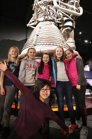2017-2018 6th Grade Field Trip to the Museum of Flight