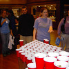 Candy Pong during Spirit Week.