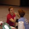 Face painting at Kids Day