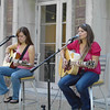 Meg Allison performs in the Medaille Meadow