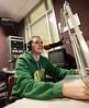 110930504 - Broadside Sports Editor Cody Norman participates in WGMU's Morning Breakdown program. Photo by Alexis Glenn