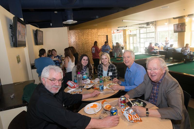 Greek Week Faculty and Staff Appreciation Lunch
