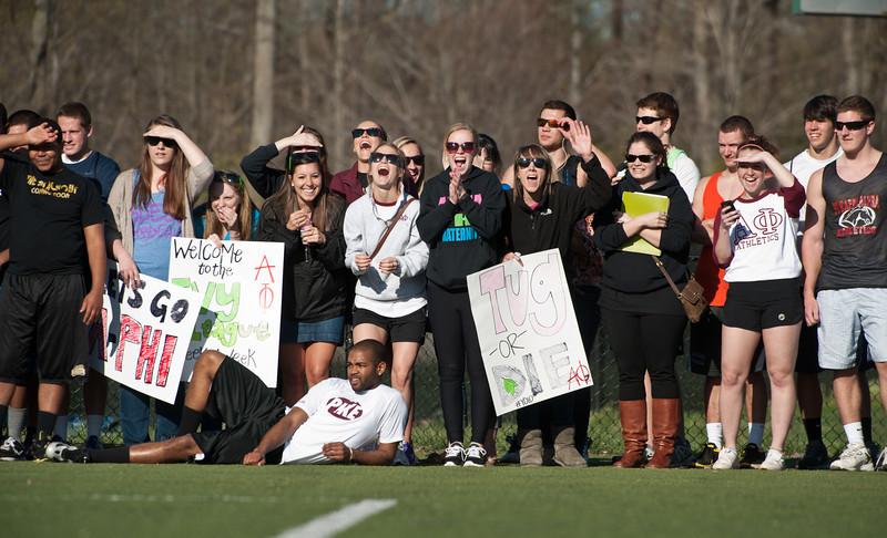 Greek Week Field Day on Fairfax Campus. Photo by Alexis Glenn/Creative Services/George Mason University