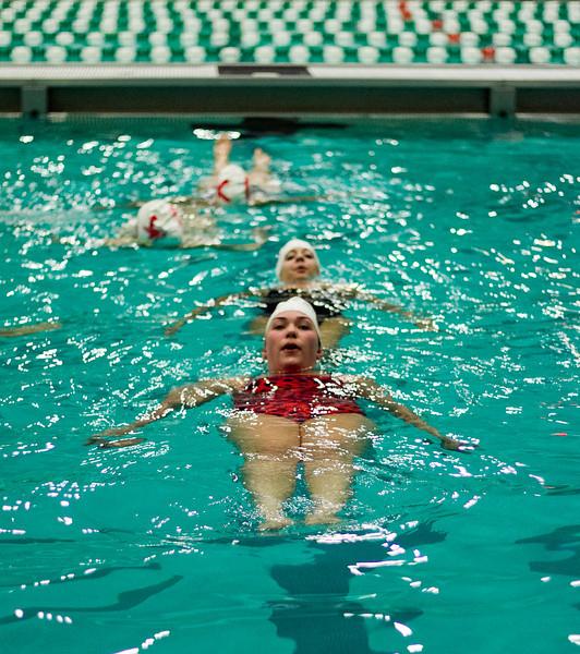 Annual Greek Week 2012, Greek Synchro Swim, Photo By Craig Bisacre