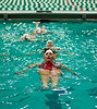 Annual Greek Week 2012, Greek Synchro Swim, Photo By Craig Bisacre