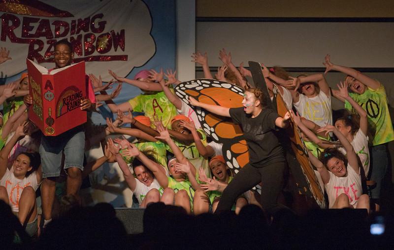 Annual Greek Week 2012, Greek Sing, Photo by Craig Bisacre /Creatives Services /George Mason University