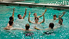 Annual Greek Week 2012, Greek Synchro Swim,, Photo By Craig Bisacre