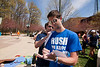 Students attending the Greek Week Shack-A-Thon to raise money for Habitat for Humanity on April 14, 2013. Photo by Craig Bisacre