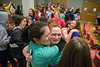 George Mason sororities and fraternities compete in Greek Sing at Dewberry inside the Johnson Center . Greek Sing is an annual competition during Greek Week. Photo by Craig Bisacre/Creative Services/George Mason University