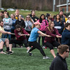 Students participate in the Greek Games during Greek Week.