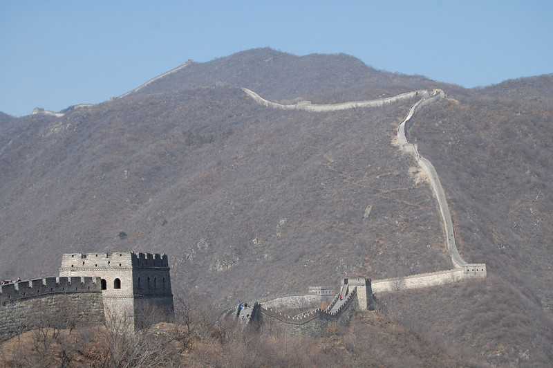 View of the Great Wall of China - Beijing