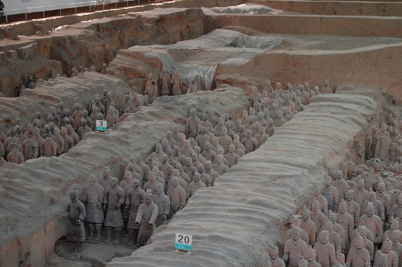 Terra Cotta Warriors - Xian, China