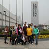 Group picture in front of the Volkswagen Plant toured in Shanghai