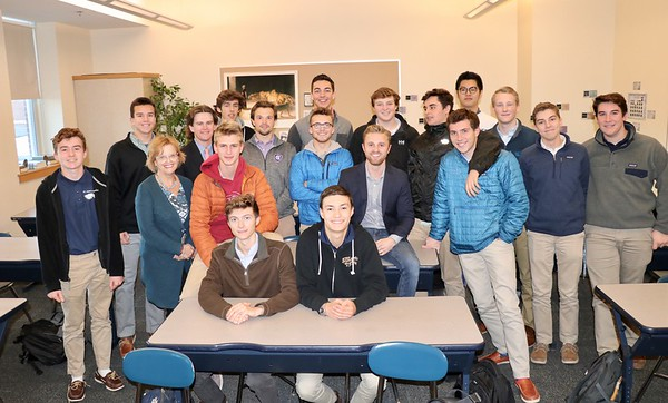 Vrrroom-vroom Car Club Guest Speaker Jay Baier '07