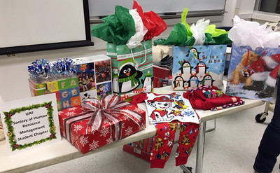 SHRM-Salvation Army Angel Tree Donations-1-2017