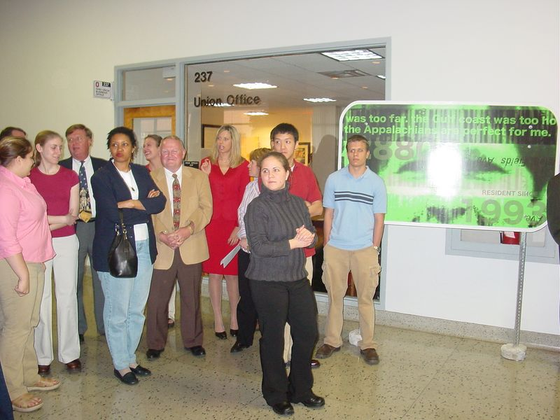 2003 Ohio Staters Art Gallery Unveiling