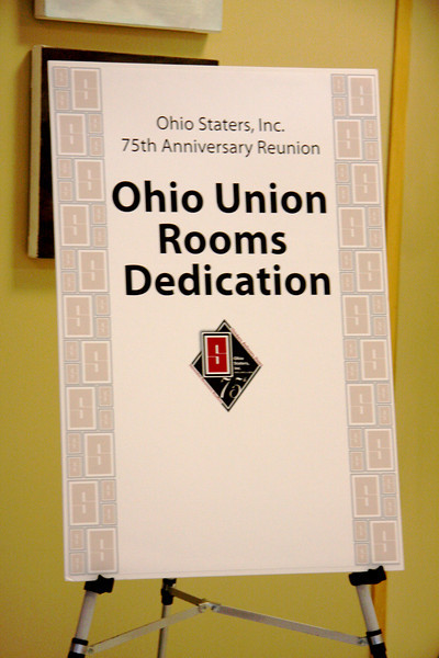 2010 Ohio Staters, Inc. 75th Anniversary Rooms Dedication