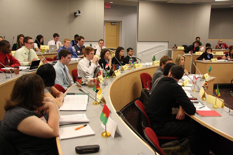 2011 Model African Union Senate Meeting