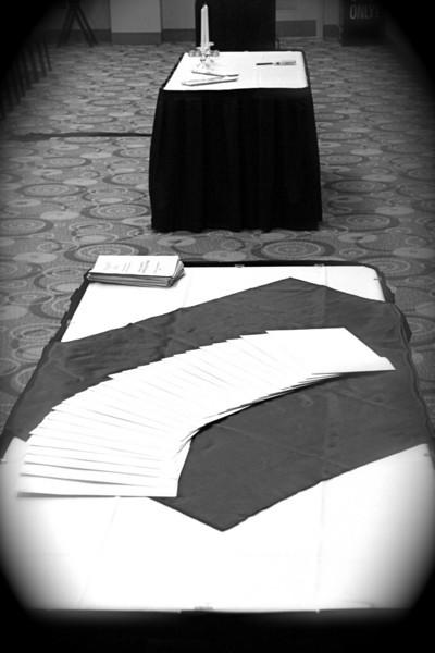 2011 Rho Chi Initiation Ceremony