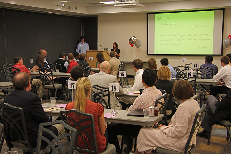 Third Annual Speed Networking Event presented by The Professional Development Program at the Ohio Union Cartoon Room May 11, 2011