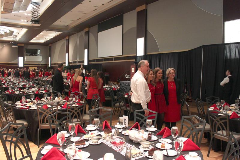 2012 Alpha Phi Red Dress Gala