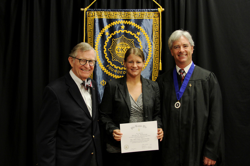 2013 Phi Kappa Phi Initiation