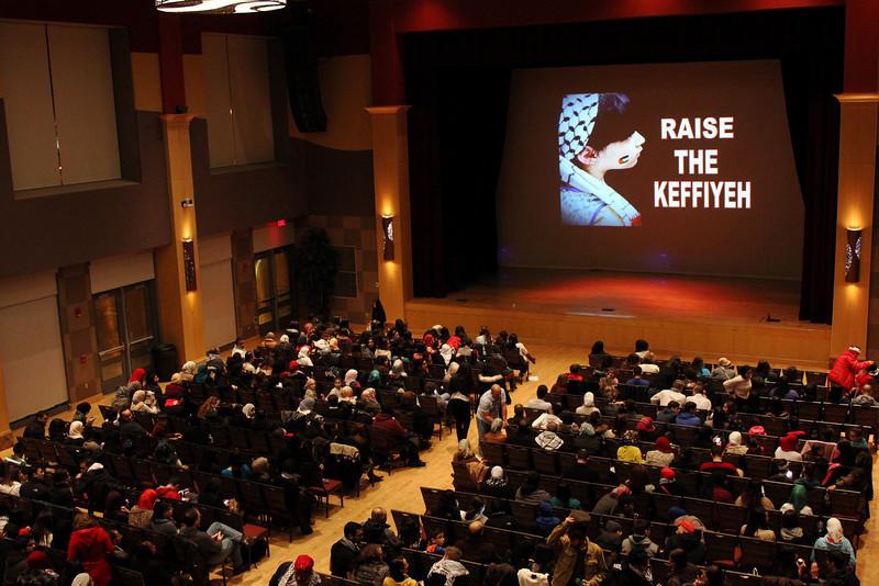 2013 Raise the Keffiyeh