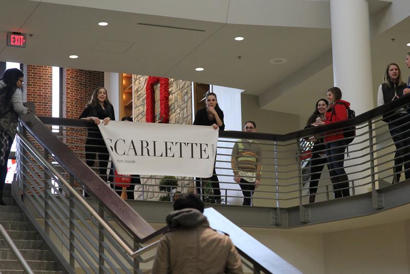 2014 Scarlette Magazine Flash Mob