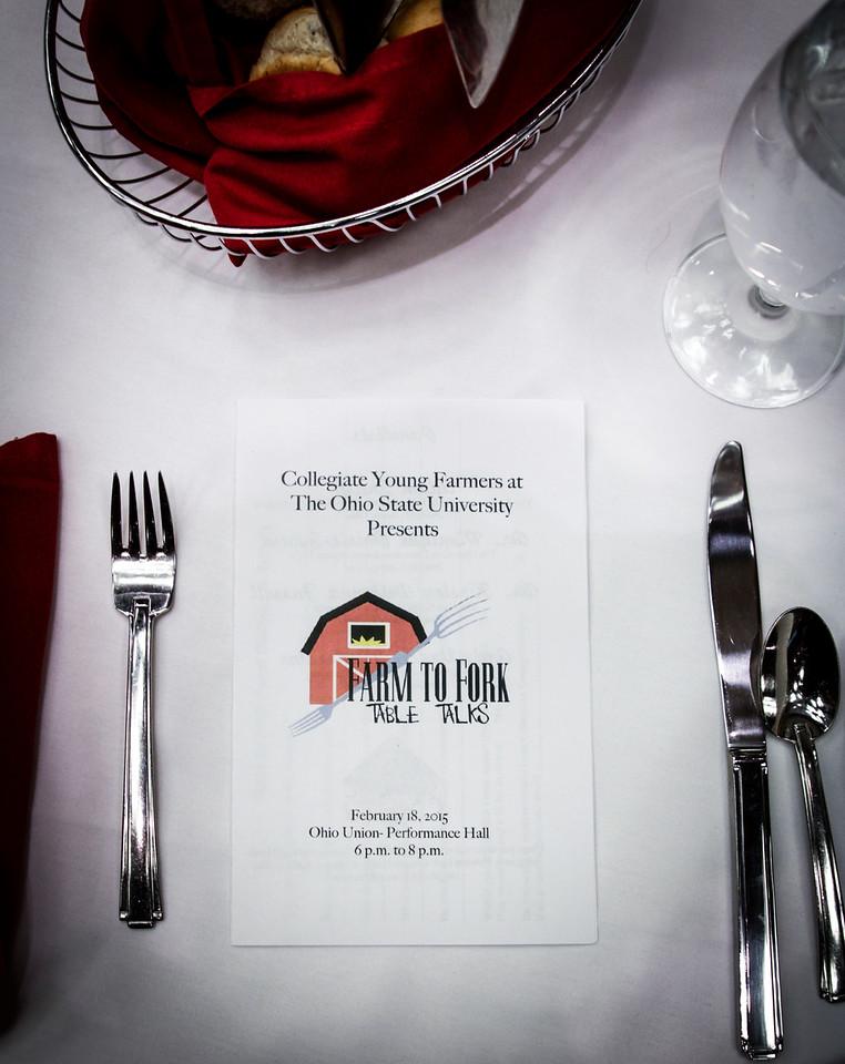 Farm to Fork Table Talks